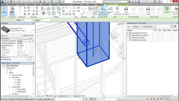 Check duct and pipe systems and disconnects: Cert Prep: Revit MEP Mechanical & Plumbing Certified Professional