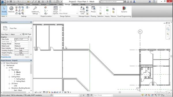 Link Revit models: Cert Prep: Revit MEP Electrical Certified Professional