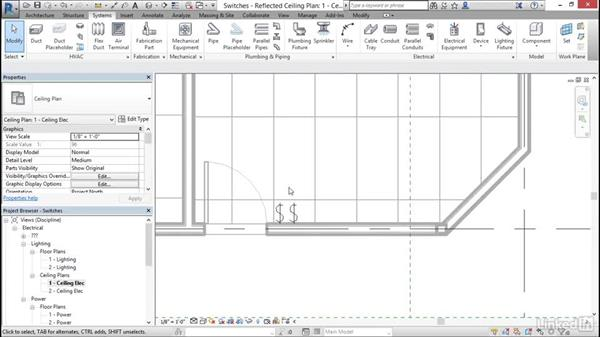 Electrical: Add and modify switches: Cert Prep: Revit MEP Electrical Certified Professional