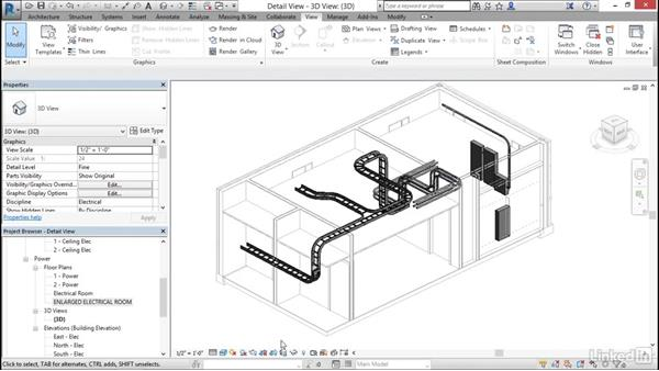 Create detail views: Cert Prep: Revit MEP Electrical Certified Professional