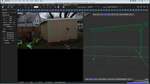 Using a text file with 3D locations: SynthEyes: Tracking with Survey Data