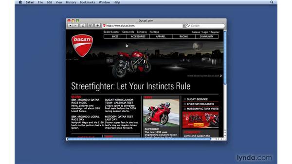 Playing a slideshow: Keynote '09 Essential Training