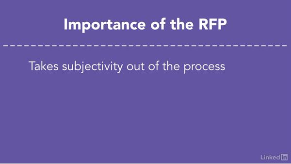 Benefits of using a request for proposal (RFP): Hiring an External Digital Marketing Agency