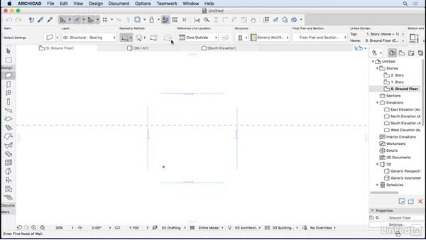 The ArchiCAD interface: ArchiCAD Essential Training