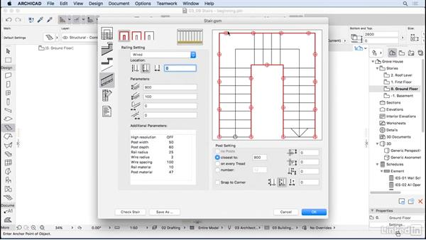 Using the Stairs tool: ArchiCAD Essential Training