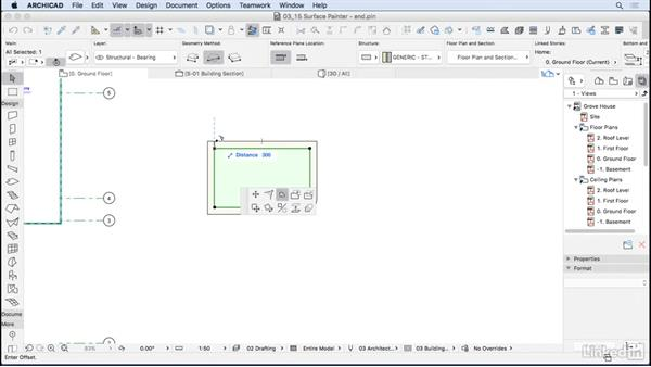Helpful modeling tools: ArchiCAD Essential Training