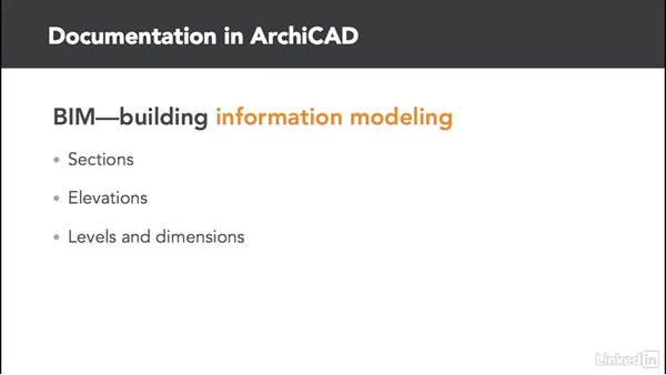 Introduction to documentation: ArchiCAD Essential Training