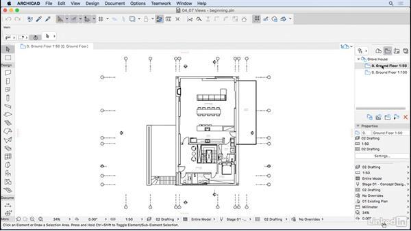 Creating views: ArchiCAD Essential Training