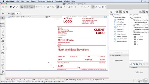 Layouts: ArchiCAD Essential Training