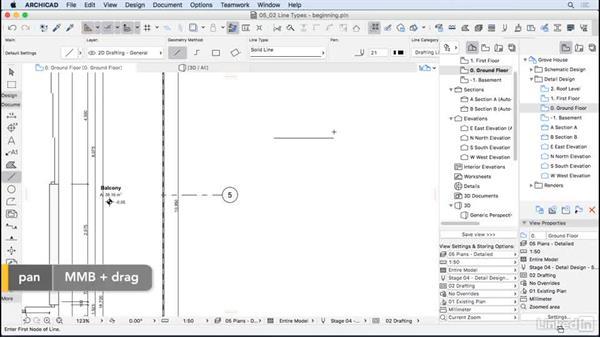 Line types: ArchiCAD Essential Training