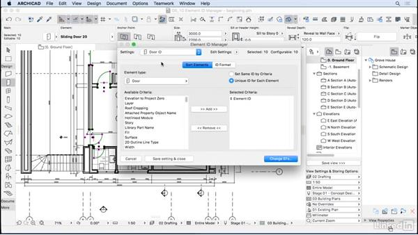 Element ID Manager: ArchiCAD Essential Training