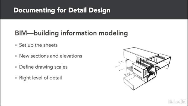 Documenting for detailed design: ArchiCAD Essential Training