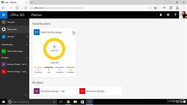 Work with multiple plans: Microsoft Planner: First Look