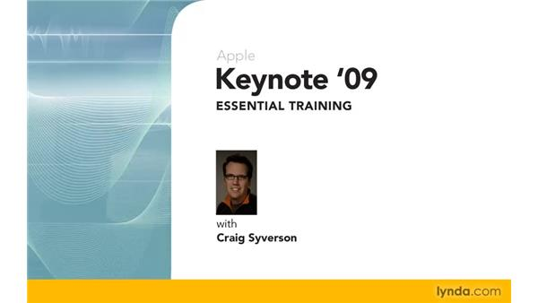 Goodbye: Keynote '09 Essential Training