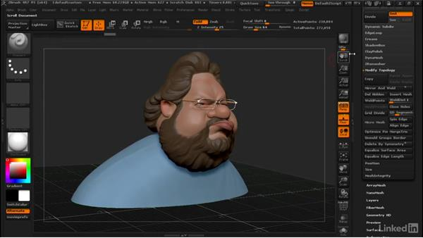 Decimating the inside of a model for 3D printing: ZBrush: Tips & Tricks