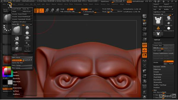Giving the move brush a sharp point: ZBrush: Tips & Tricks
