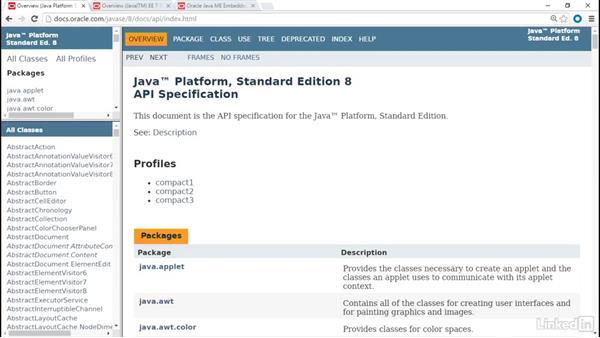 API comparisons: Java Platforms Compared: SE vs EE vs ME
