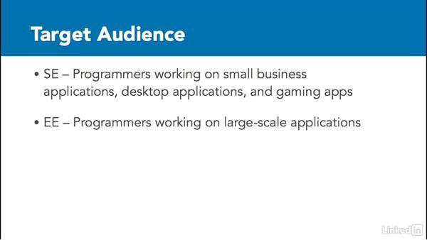Target audience: Java Platforms Compared: SE vs EE vs ME