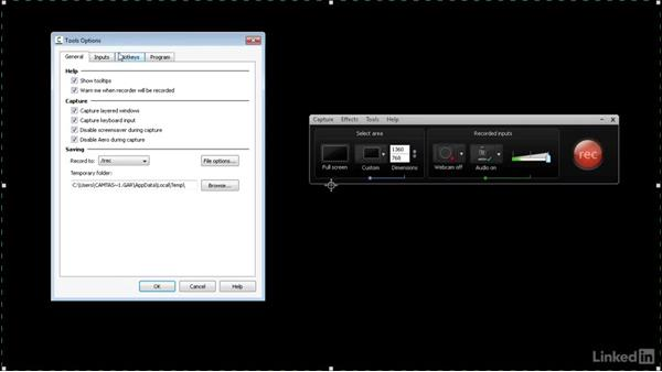 Exploring a basic setup: How to Create Instructional Videos in Camtasia