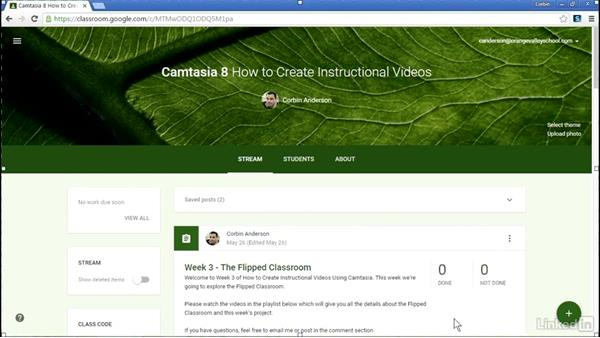 Creating a webcam video: How to Create Instructional Videos in Camtasia