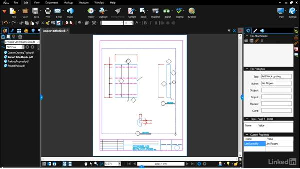 Importing an existing CAD template: Bluebeam: Draw Layouts & Detail