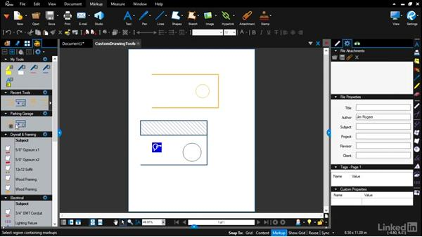 Saving everything to your Tool Chest: Bluebeam: Draw Layouts & Detail