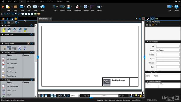 Setting up a drawing profile: Bluebeam: Draw Layouts & Detail
