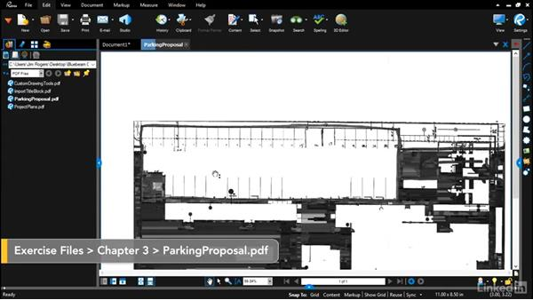 Importing existing drawings or layouts: Bluebeam: Draw Layouts & Detail
