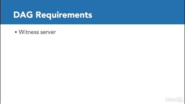 Plan for Exchange clustering: Deploying Exchange Server 2016