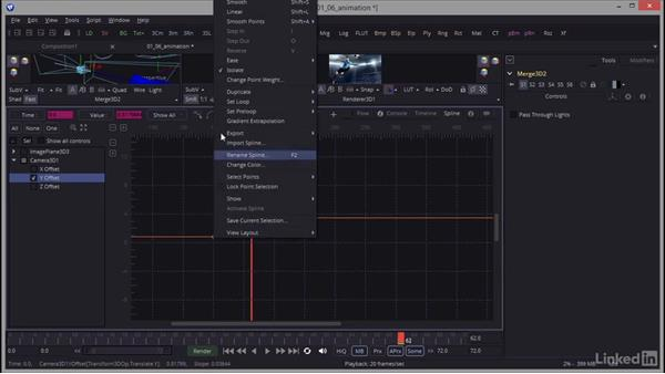 Creating a camera and setting up a renderer: Creating Motion Graphics with Fusion