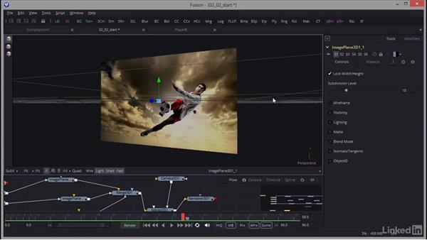 Using the Curve Editor to fine-tune animation: Creating Motion Graphics with Fusion