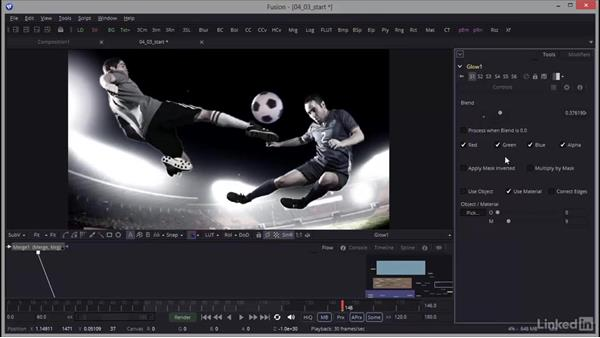 Setting the ambient tone: Creating Motion Graphics with Fusion