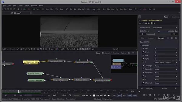 Implementing motion blur: Creating Motion Graphics with Fusion