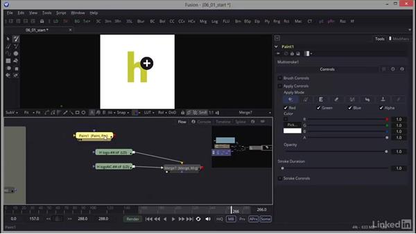 Painting a logo: Creating Motion Graphics with Fusion