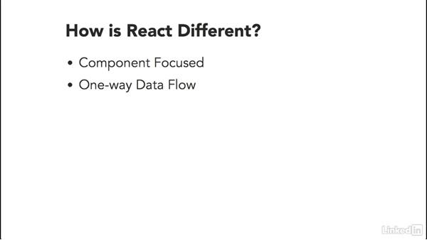 How is React.js different?: Building a Web Interface with React.js