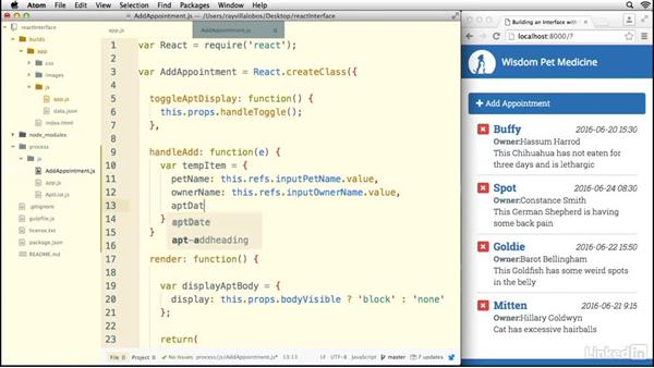 Using Refs: Building a Web Interface with React.js