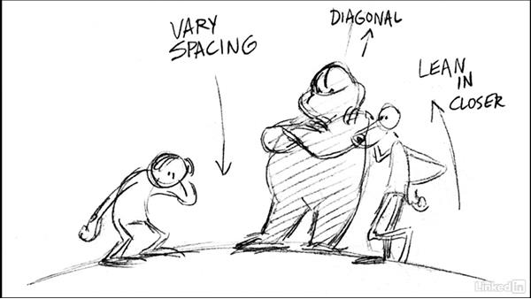 Poses and staging: Animation Foundations: Storyboarding