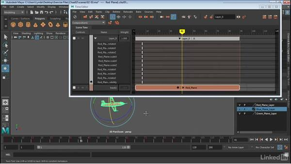 Create layers: Maya: Time Editor