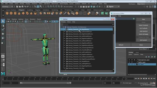 Move data between characters: Maya: Time Editor