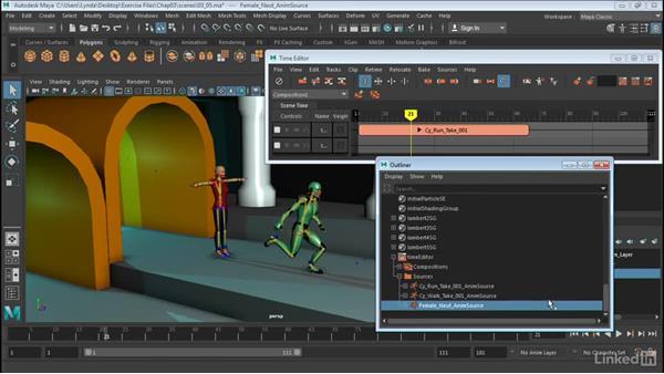 Bake animation and export: Maya: Time Editor