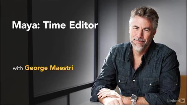 Next steps: Maya: Time Editor