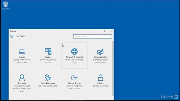 Create a system image: Windows 10: Manage Updates and Recovery