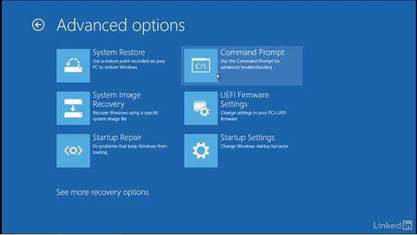 Windows Recovery Environment, part 2: Windows 10: Manage Updates and Recovery