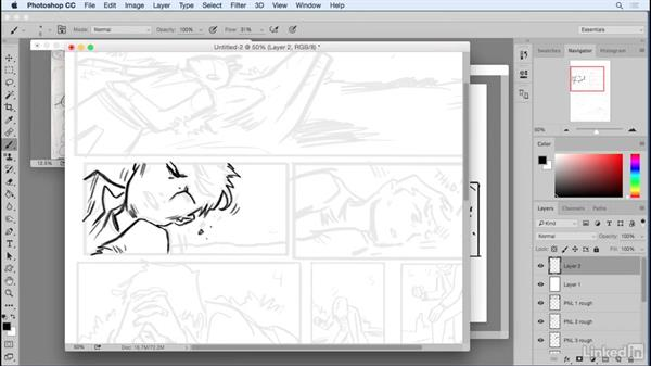 Welcome: Penciling a Comic Book Page