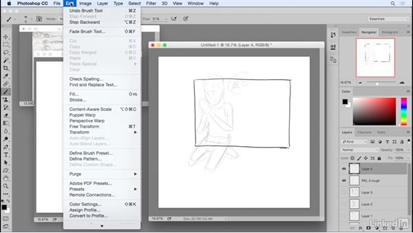 Planning for panel shapes: Penciling a Comic Book Page