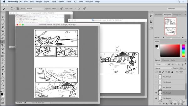 Placing your panels: Penciling a Comic Book Page