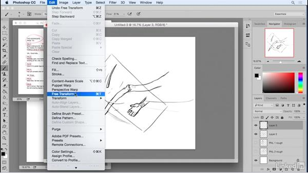 Roughing your page: Penciling a Comic Book Page