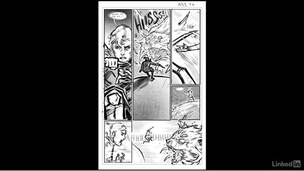 Next Steps: Penciling a Comic Book Page