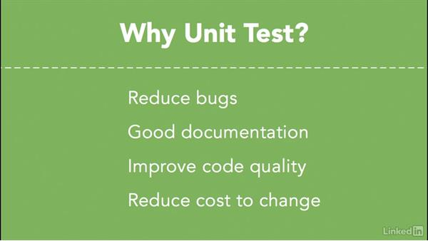 Why unit test?: Android SDK Unit Testing