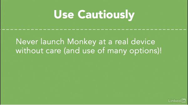Stress testing apps with Monkey: Android SDK Unit Testing